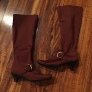 Bellini Chestnut brown boots size 7